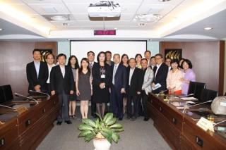 衛星公會來訪與本會全體委員交流產業意見