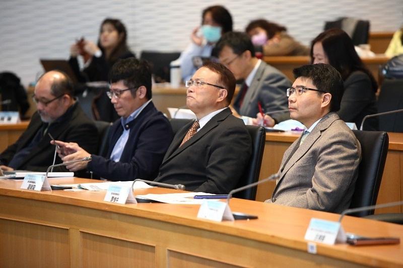 NCC委員蕭祈宏、鄧惟中參與「2020通傳資料應用與法制整備研討會」。
