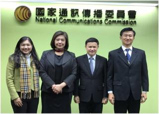 泰國國家傳播及電信委員會(NBTC)拜會NCC就OTT TV等議題進行交流