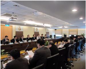 中華電信公司新任董事長率執行團隊拜會NCC,就數位匯流趨勢及業務重點方向,進行意見交流
