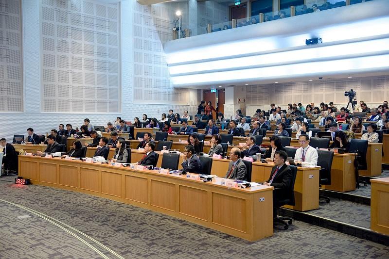「NCC高峰論譠:傳播事業因應5G新紀元之機會與挑戰」於集思交通部國際會議會議中心3樓舉行。