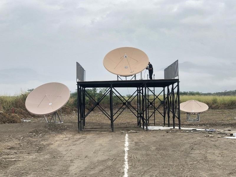 NCC展演之FSS衛星地面接收站及校準過程1