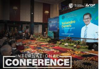 印尼廣電監理機構KPI主委暨現任IBRAF主席Yuliandre Darwis於IBRAF開幕致詞