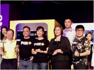 福斯傳媒集團FOX+上市及與中華電信合作發表會,國家通訊傳播委員會詹婷怡主委應邀出席致詞,期待媒體重視內容製作與多元,並結合資通訊科技能量,積極推動我國影視娛樂產業
