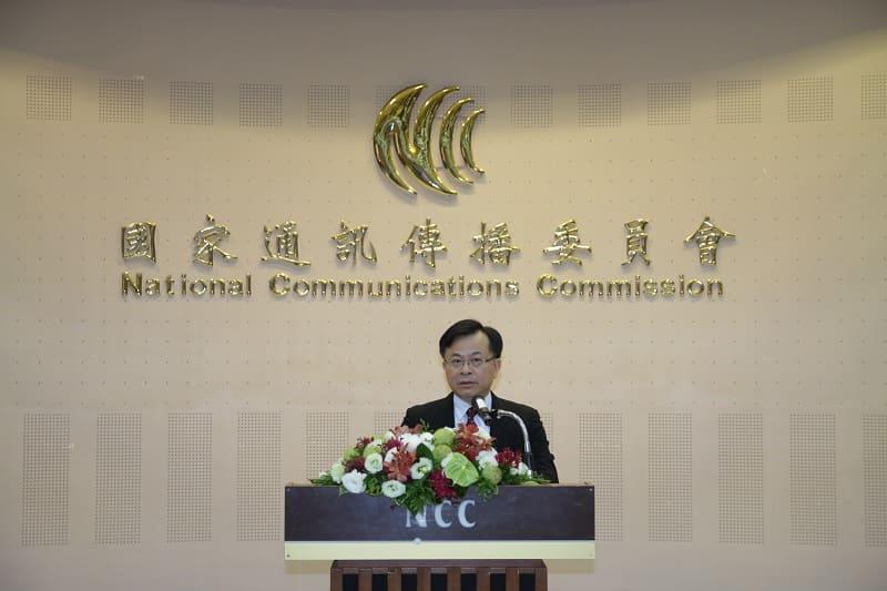 NCC陳代理主任委員耀祥代表行政院於頒獎典禮致詞