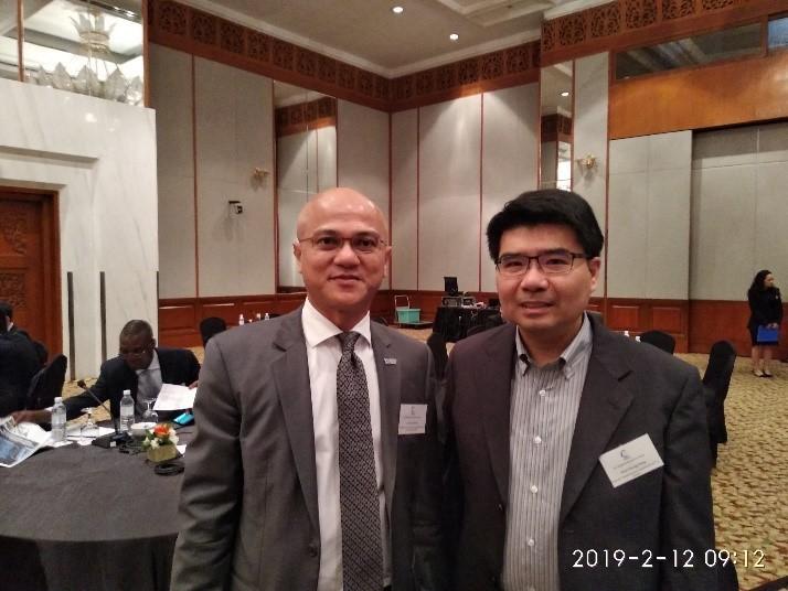 鄧委員惟中於108年2月11日至15日赴馬來西亞出席由IIC舉辦之區域管制者論壇(RRF)與電信暨媒體論壇會議(TMF)