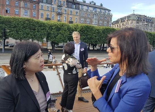 孫委員雅麗率本會資源處及基礎處同仁出席108年6月22日至27日於瑞典斯德哥爾摩舉行的「寬頻大未來-數位化社會的信賴基礎(Broadband for all-a trusted base for digitalization of our societies)」國際會議,就5G網路安全及歐盟最新的頻譜規劃情形,與多國傳播通訊監理機構官員進行充分討論與交流,並持續深化雙邊的關係。